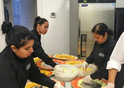 alabardero catering camareras
