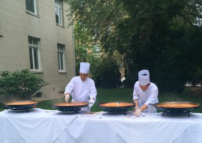 alabardero catering paellas garden