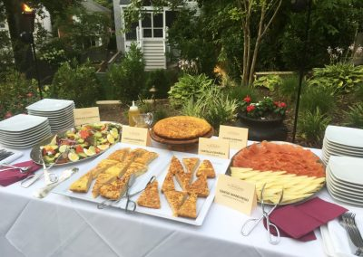 alabardero catering starters station