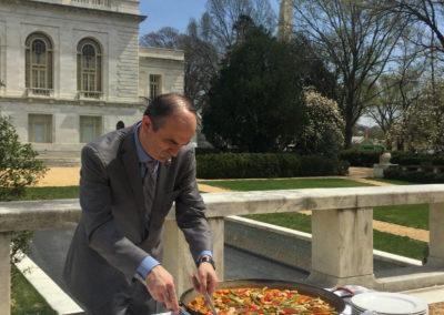 paella ramon museo americas catering