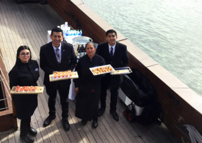 catering boat dc wharf